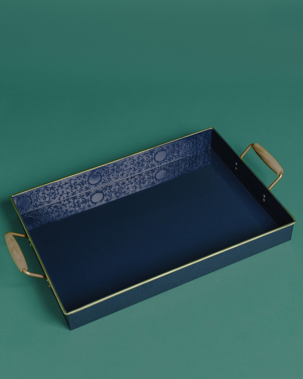 The jal rectangular tray with wooden handles living with elan treniq 1 1527156081961