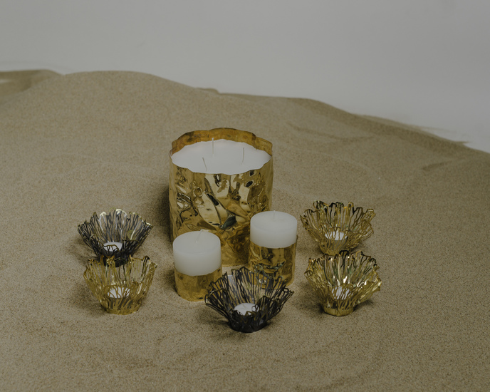 The jwalaa candle holder m (without candle) living with elan treniq 2 1527345309328