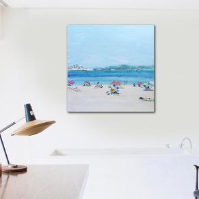 Cote-D-Azur-Painting-By-Emma-Bell_United-Interiors_Treniq_1