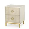 Amanda nightstand 2 drawer  sonder living treniq 1 1527669820031