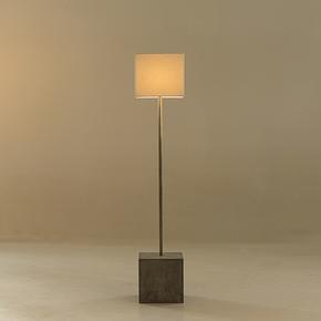 Untitled-Floor-Lamp-Square-White-Shade-By-Nellcote_Sonder-Living_Treniq_0