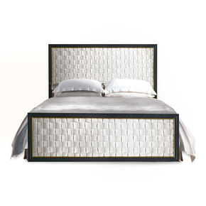 Bronze Double Bed - Orsi - Treniq
