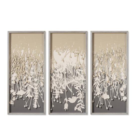 Paper vines triptych  sonder living treniq 1 1527676723631