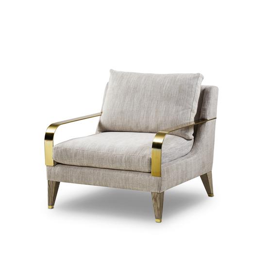 Bartholemew lounge chair summit taupe  sonder living treniq 1 1527682097872