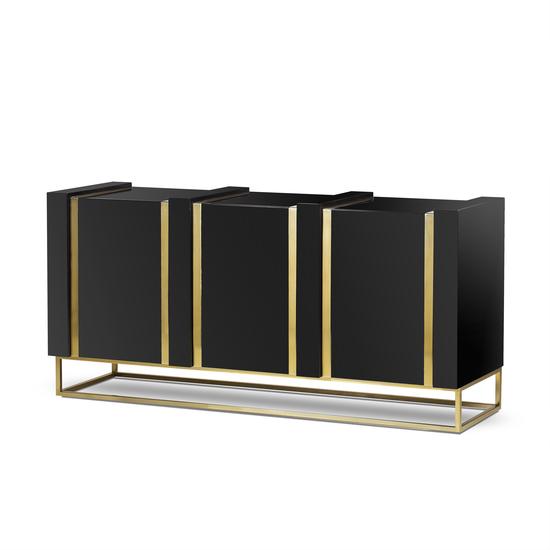 Deluxe 3 door sideboard  sonder living treniq 1 1527683226562