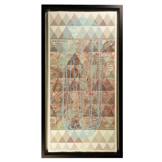 Vintage map brussels  sonder living treniq 1 1527685150112