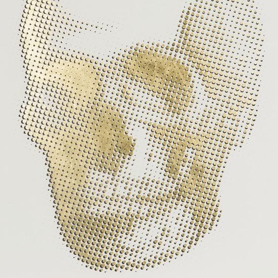 Gold skeleton skull  sonder living treniq 1 1527686136585