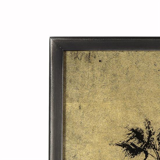 Eglomise santa monica palm trees gold leaf  sonder living treniq 1 1527686182275