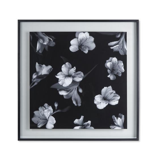 Black   white flowers glass float  sonder living treniq 1 1527739830929
