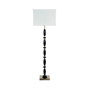 Olivia Black Floor Lamp - Dettagli Lights - Treniq
