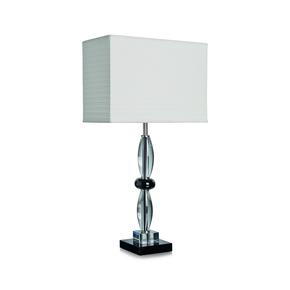 Olivia Crystal & Black Table Lamp - Dettagli Lights - Treniq