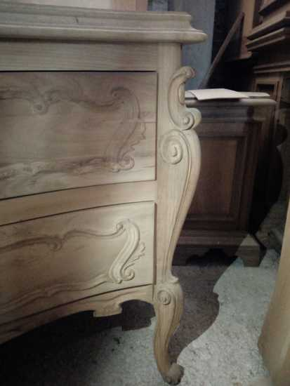 Classic set of 1 chest of drawers and 2 bedside tables pini romoli treniq 1 1528366219520