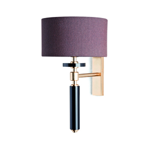 Pillar Black Wall Lamp - Dettagli Lights - Treniq