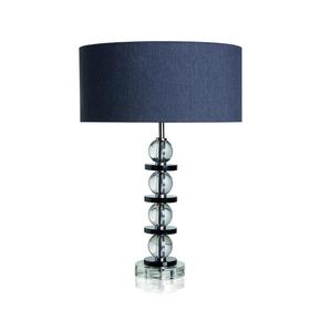The Space Crystal & Black Table Lamp - Dettagli Lights - Treniq