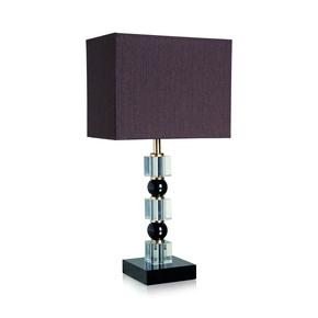 Totem Crystal & Black Table Lamp - Dettagli Lights - Treniq
