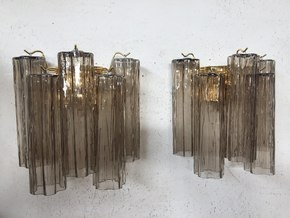 Pair-Of-2-Grey-Murano-Glass-Wall-Sconces-With-Tronchi_Il-Paralume-Marina_Treniq_0