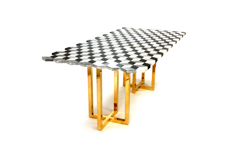 Jagged dining table aurum treniq 1