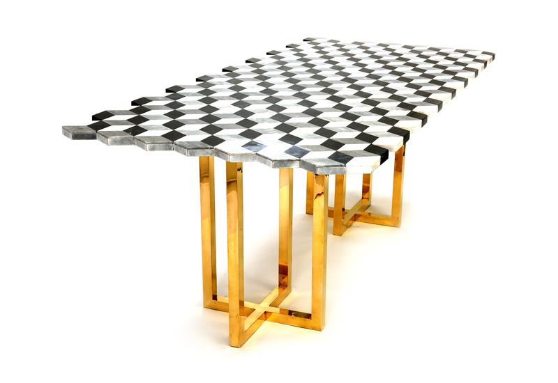 Jagged dining table aurum treniq 2