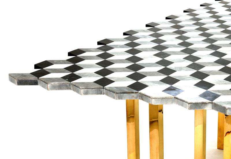 Jagged dining table aurum treniq 4