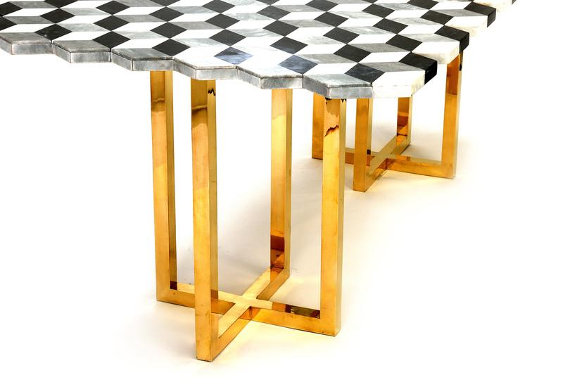Jagged dining table aurum treniq 5