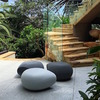 Designer furniture modular seating aura pebble mixed colour courtyard