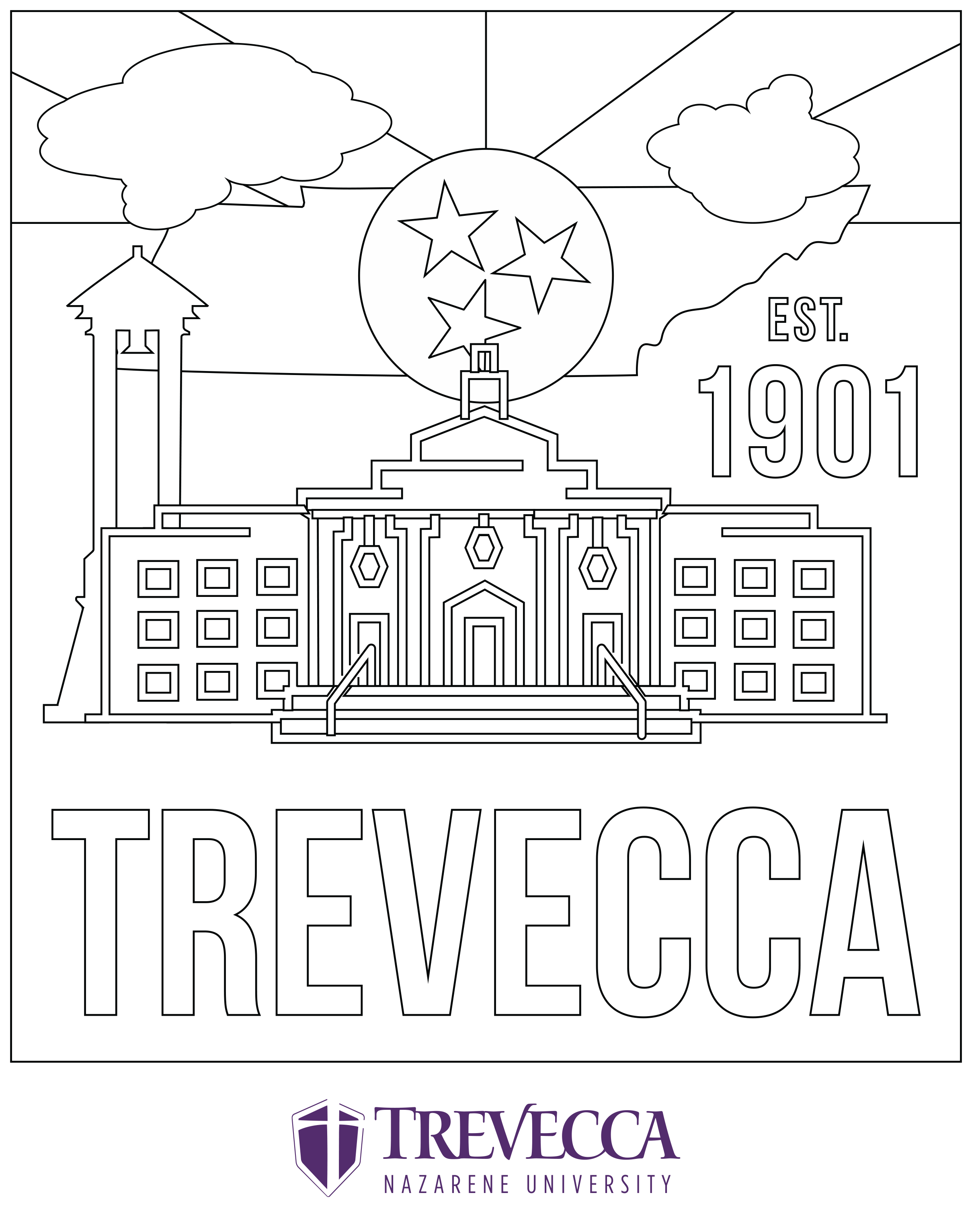 USA-Printables: State of Tennessee Coloring Pages - Tennessee ... | 3065x2418
