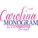 Logos deal list logo carolina monogram logorgb