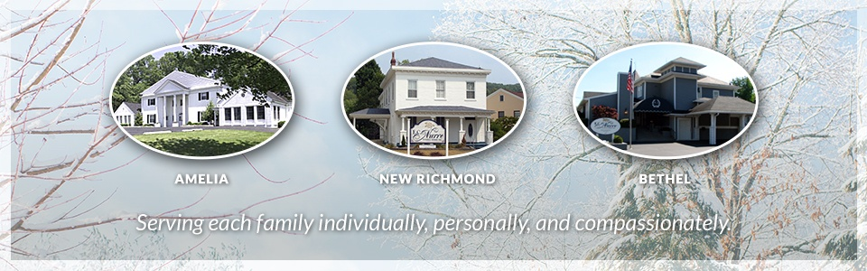 E C Nurre Funeral Homes Inc Amelia New Richmond And Bethel Oh