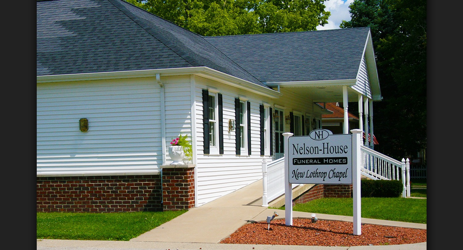 Nelson House Funeral Homes Owosso Chesaning And New Lothrop Mi
