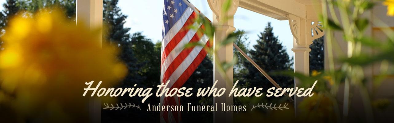 Anderson Funeral Homes Marshalltown Iowa Conrad Iowa