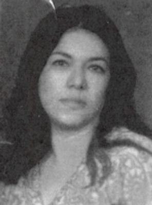 Photo of Maria Bobo