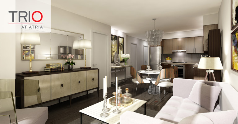 Tridel trio at atria north york condos