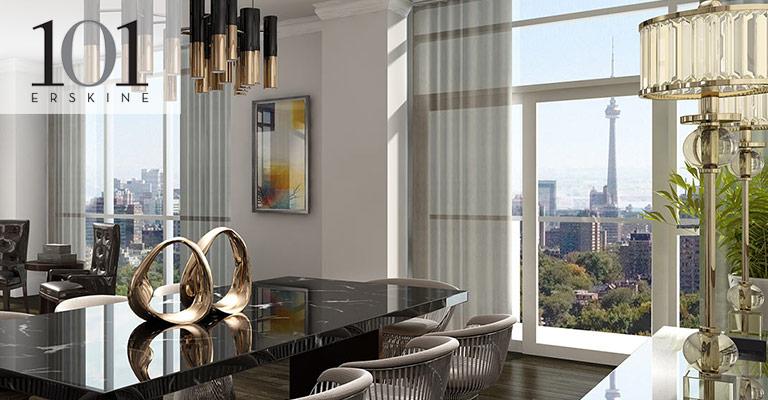 101 Erskine Condominium Yonge & Eglinton, Toronto - Tridel