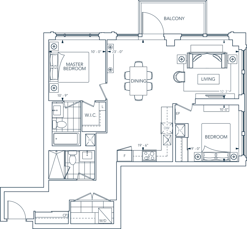 Evermore 2M Floorplan