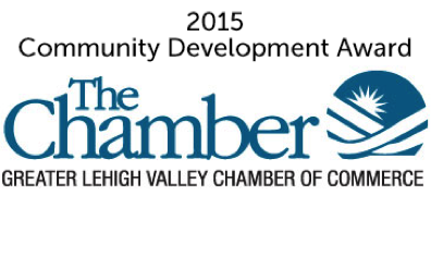 Trifecta Technologies received the 2015 Community Development Award