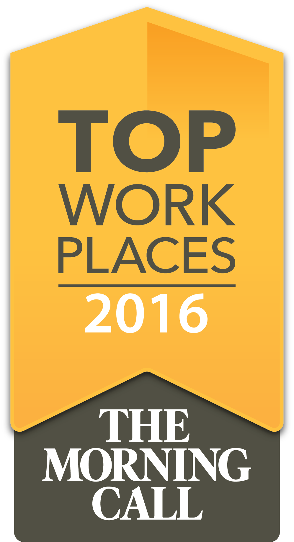 Trifecta Technologies was recognized as one of the Lehigh Valley's Top Work Places in 2016