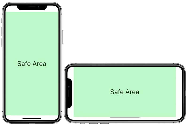 iPhone-X Safe Area
