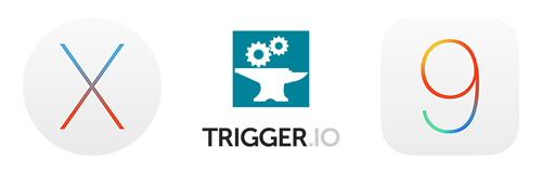 Trigger.io Forge is ready for iOS9 and OSX El Capitan