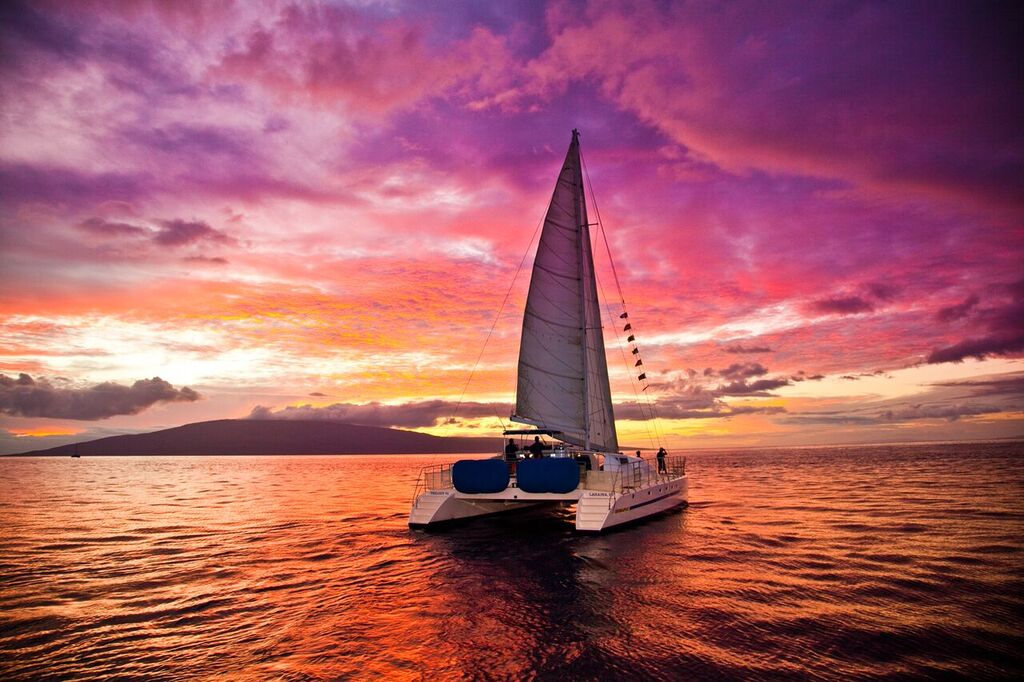 Ka'anapali Beach Sunset Sail