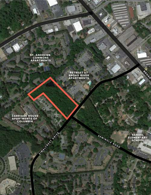 801 Zimalcrest Drive | Prime Development Site