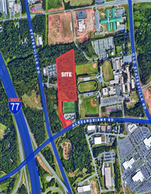 Land - 13.02 Acres in Huntersville NC - Under Contract