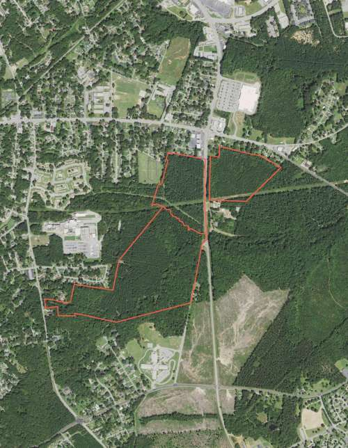 Development Tract at Bypass 25 SE and New Market