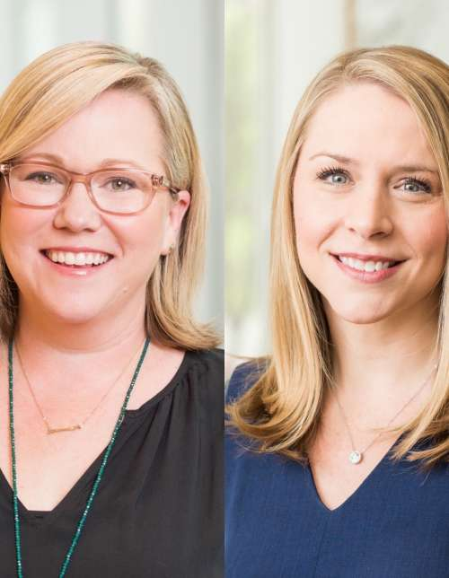 Molly Carroll and Jennifer Kurz named Partners of Trinity Partners Charlotte