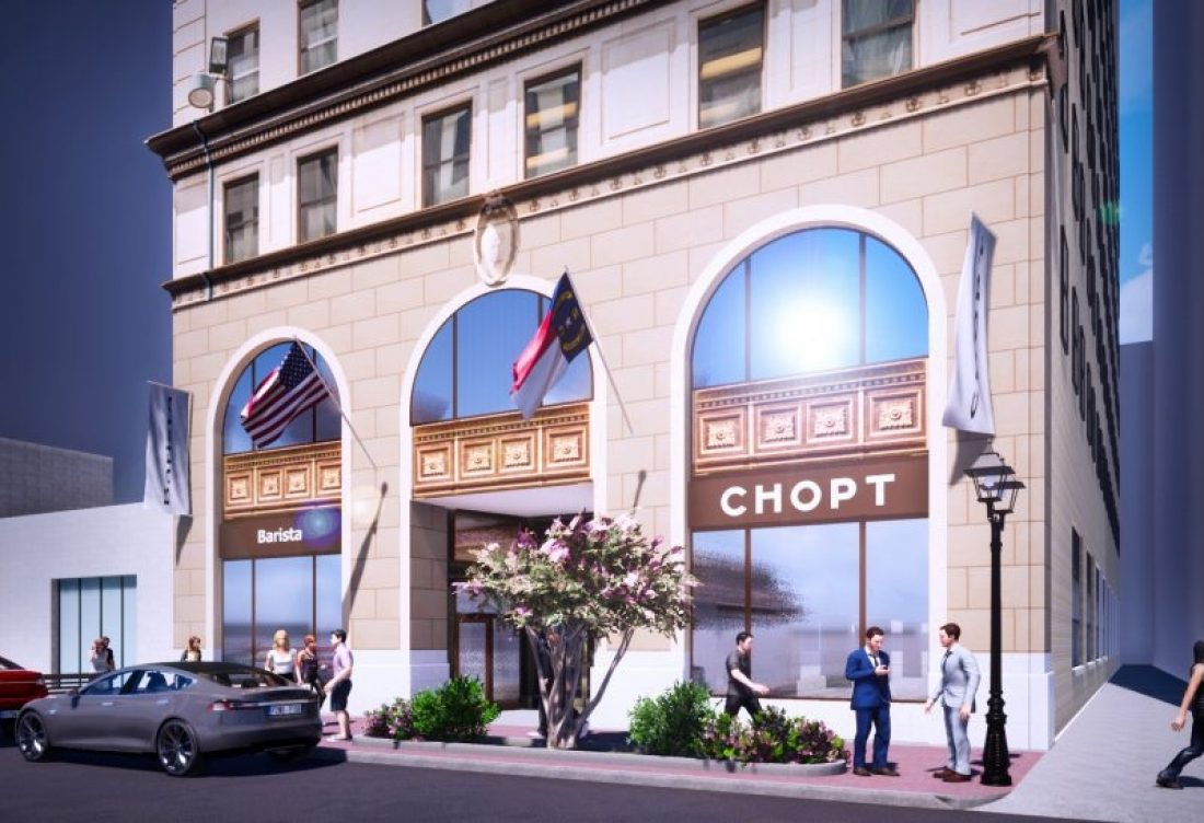 Chopt Creative Salad Co. to locate first Downtown Charlotte outpost at the Johnston Building