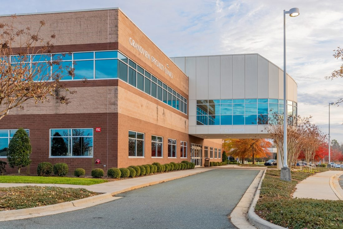Trinity Partners announces sale of Grandview Specialty Clinics multi-tenant office building