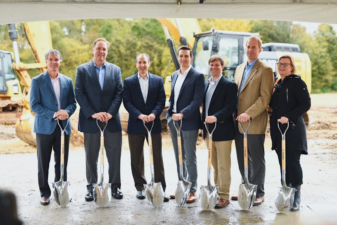 Griffin breaks ground on two industrial buildings in Concord, North Carolina