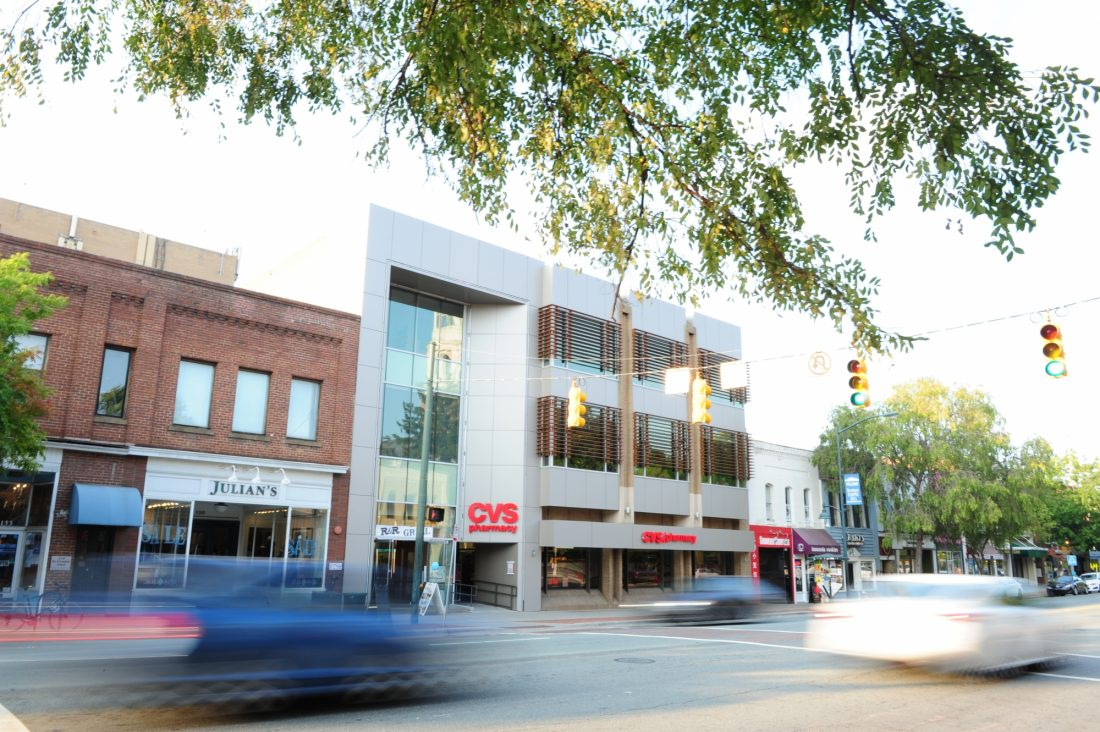 Trinity Partners announces the sale of The Central located at 137 E. Franklin Street in Chapel Hill, North Carolina