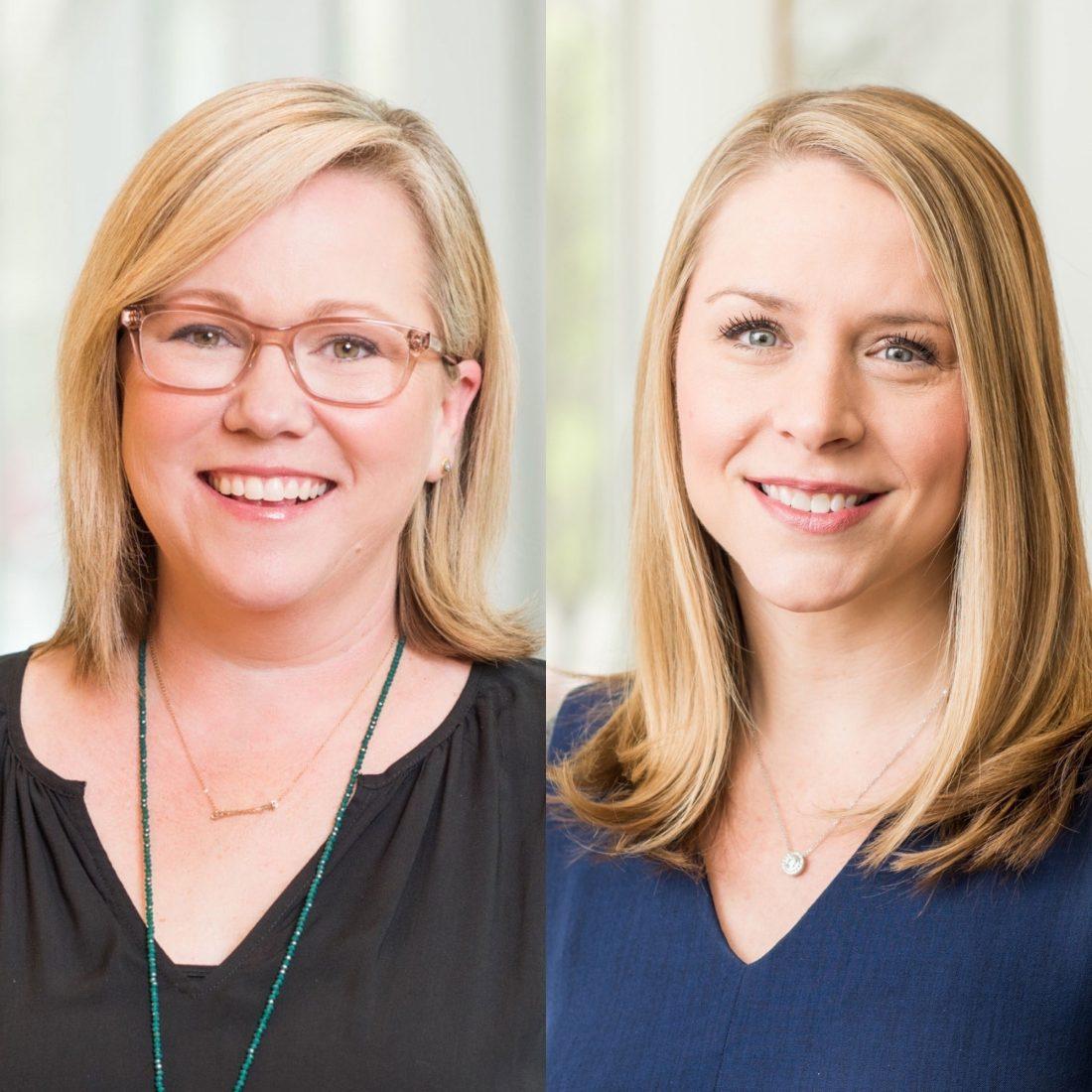 Molly Carroll and Jennifer Kurz named Partners of Trinity Partners Charlotte