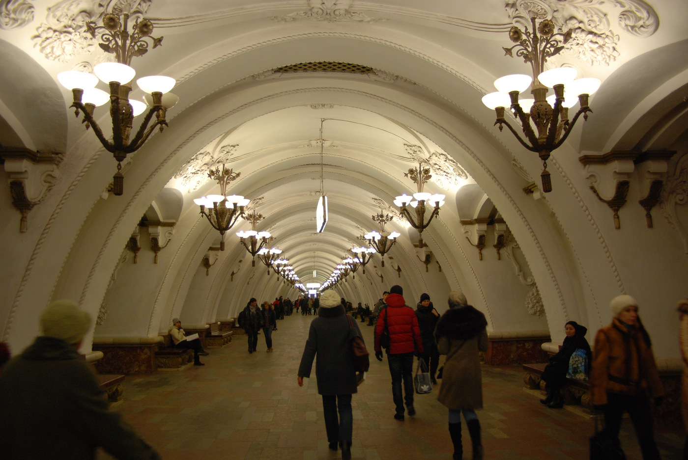 User submitted photo of Moscow Metro