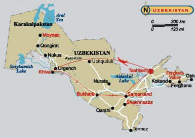 User submitted photo of Uzbekistan